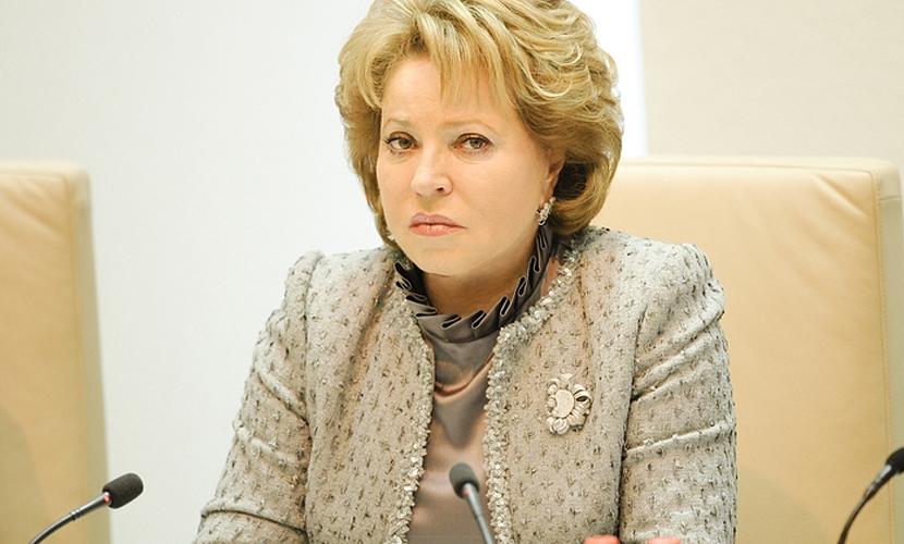 Матвиенко заявила о готовности РФ помочь Турции закрыть границу с Сирией