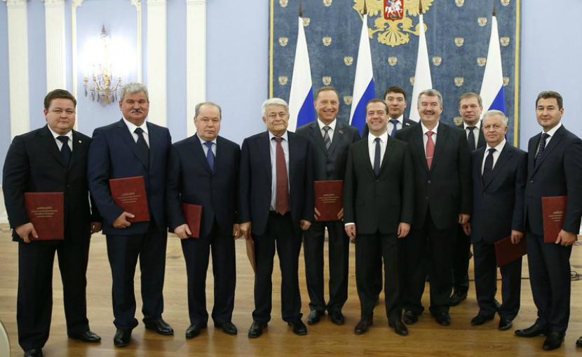 Медведев наградил российские компании за качество
