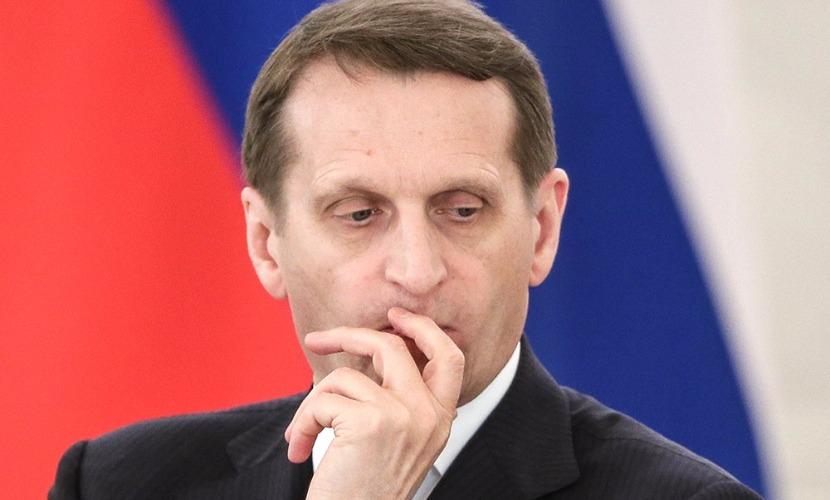 Нарышкин назвал НАТО раковой опухолью всего европейского континента
