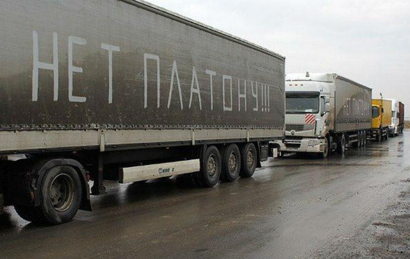 Дальнобойщика-активиста задержали под Москвой на машине, числящейся в розыске