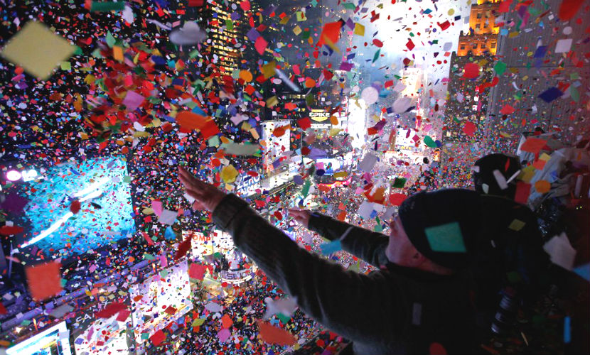 Новый год в мире будут праздновать до обеда 1 января