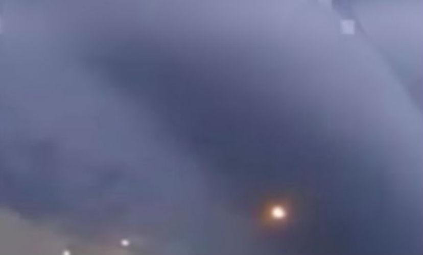 Загадочные облака-гиганты повисли в небе над Аргентиной