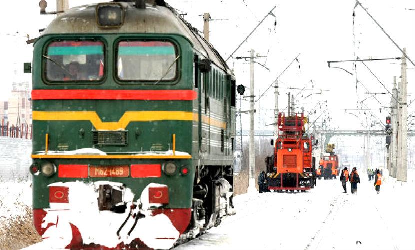 В Бурятии под поездом погиб водитель