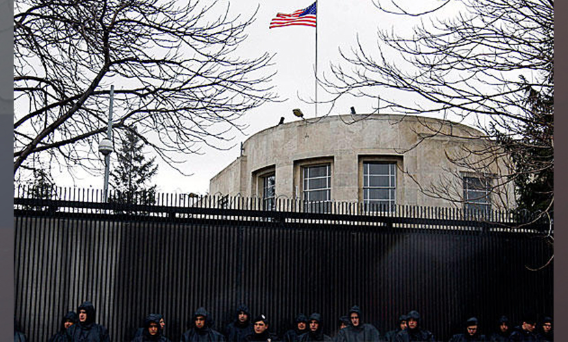 Посольство США в Турции ограничило работу из-за угрозы нападения