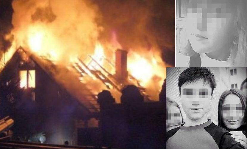 В Сети появилось видео с места пожара в ХМАО, в котором сгорели 8 детей