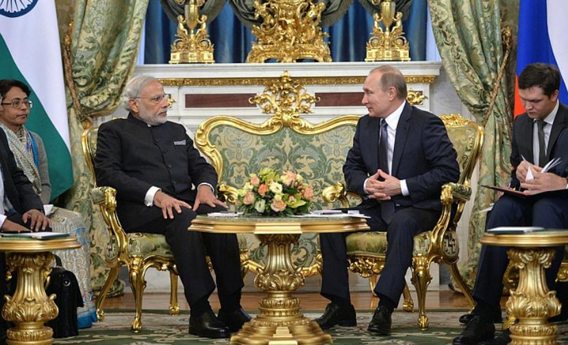 Путин пообещал Индии несколько атомных электростанций