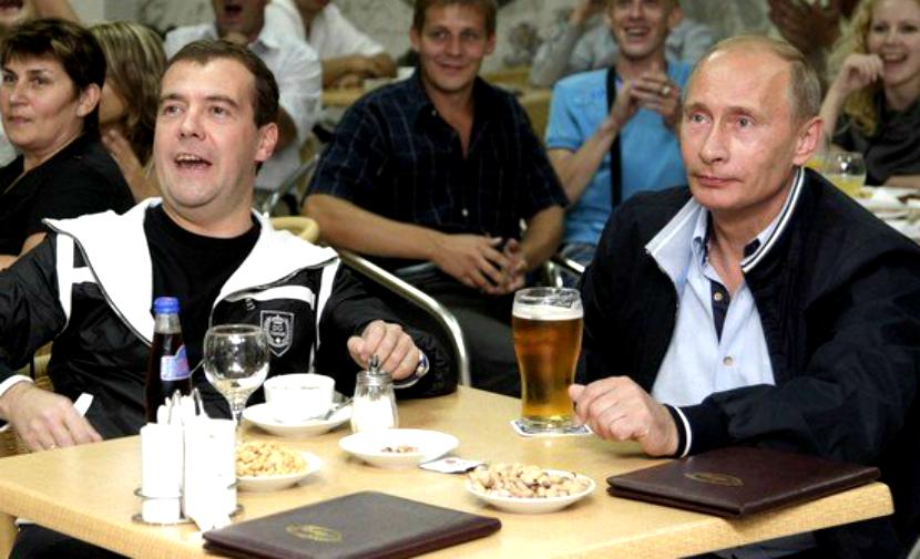 Путин дал приказ вернуть пиво на стадионы