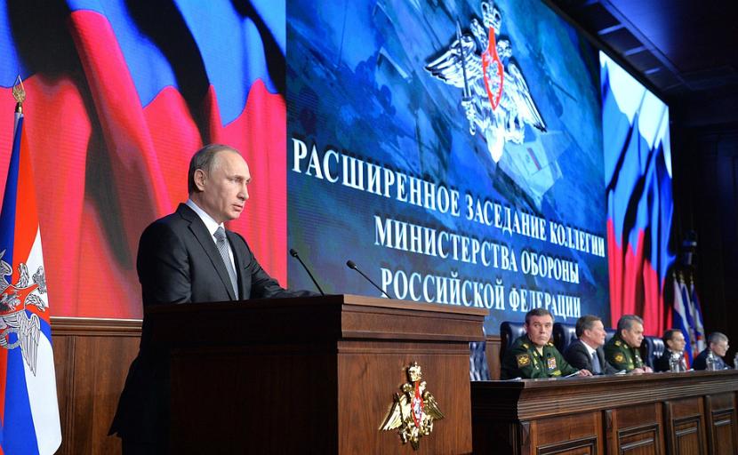 Путин поставил перед Министерством обороны три задачи