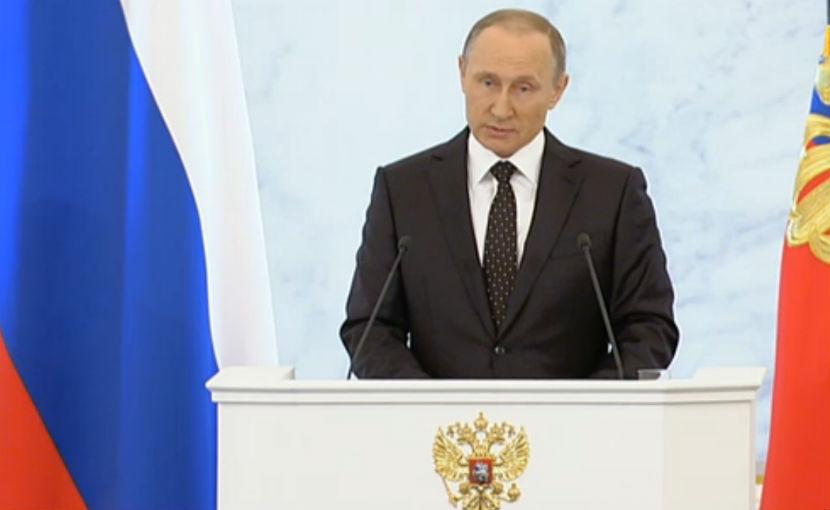 Владимир Путин поблагодарил жен погибших в Сирии россиян