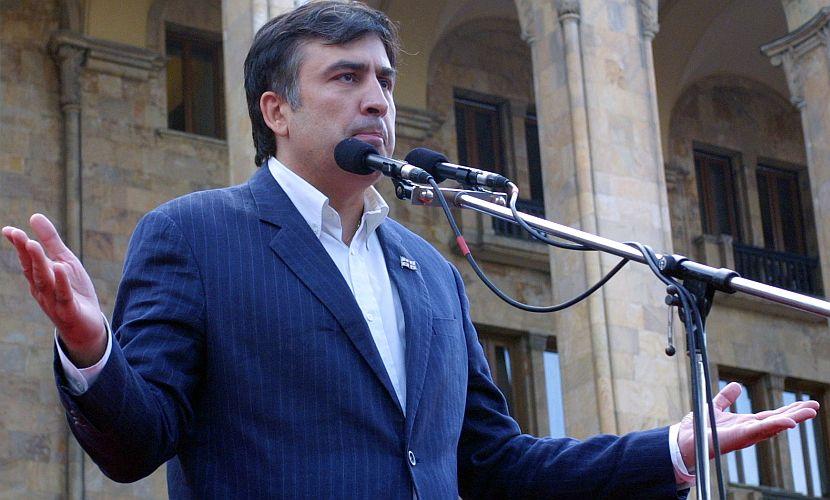 Саакашвили заявил, что вся верхушка Украины и крупные бизнесмены - коррупционеры