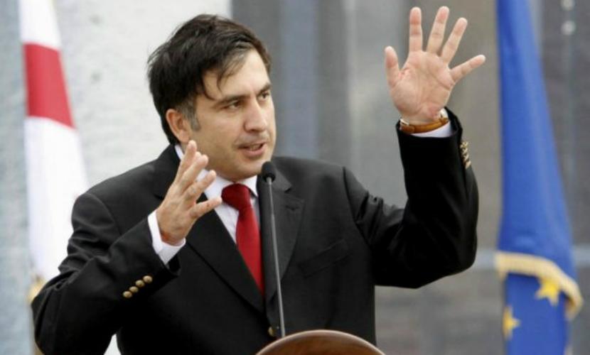 Аваков и Саакашвили устроили потасовку при президенте Украины