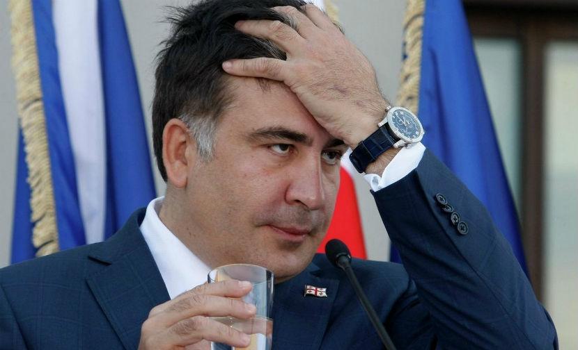 Саакашвили оштрафовали на $28 за нежелание общаться с жителями Одессы