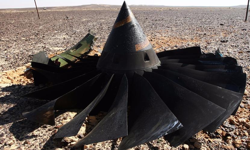 В ответ на отчет Египта ФСБ обнаружила среди обломков А321 следы взрывчатки