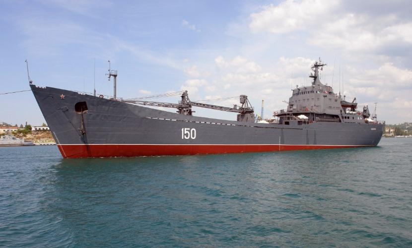 Корабль Черноморского флота прошел Босфор без поднятия
