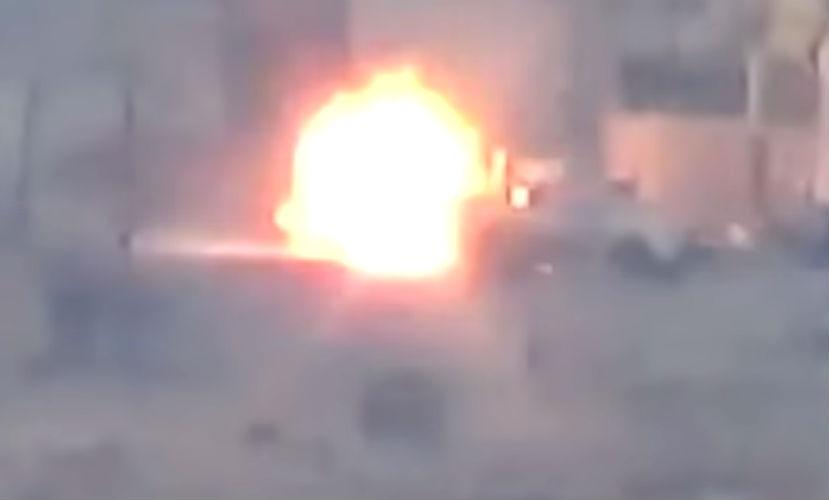 Сторонник Асада спасся от американской управляемой ракеты за секунду до взрыва