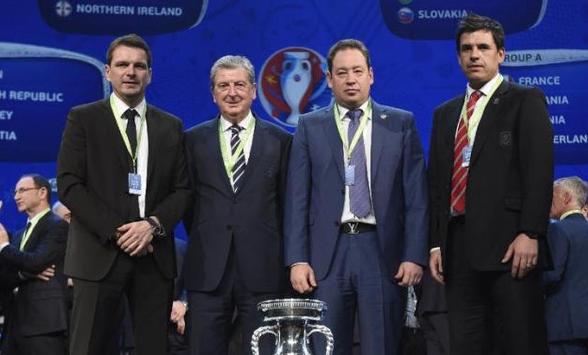 Слуцкий о Евро-2016: В нашей группе сразятся британские и восточноевропейские сборные