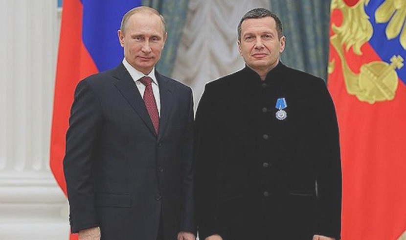 Путин рассказал Соловьеву, в чем сила России в сирийской кампании