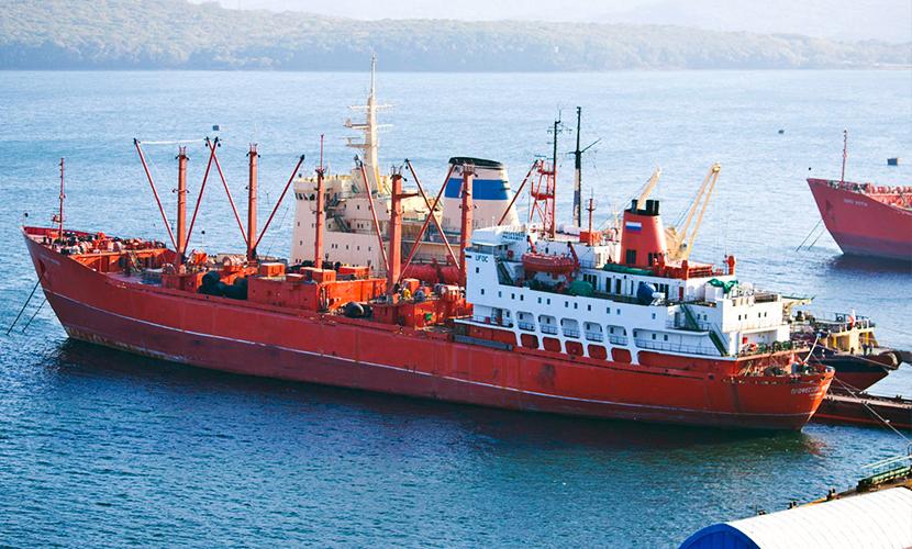 С арестованного в Китае российского судна забрали тело умершего моряка