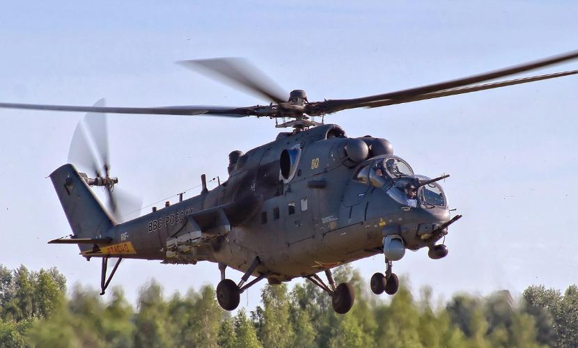 Российский вертолет нарушил воздушное пространство Грузии, - Минобороны