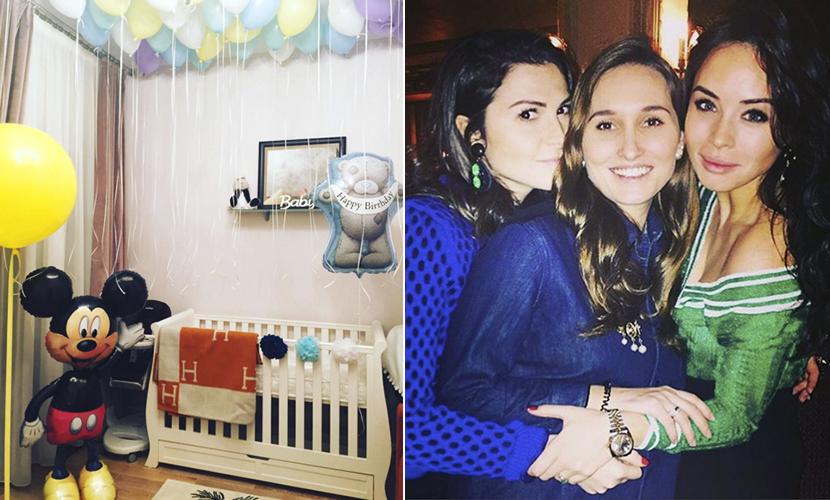 Дочка Винокура закатила вечеринку сразу после рождения сына