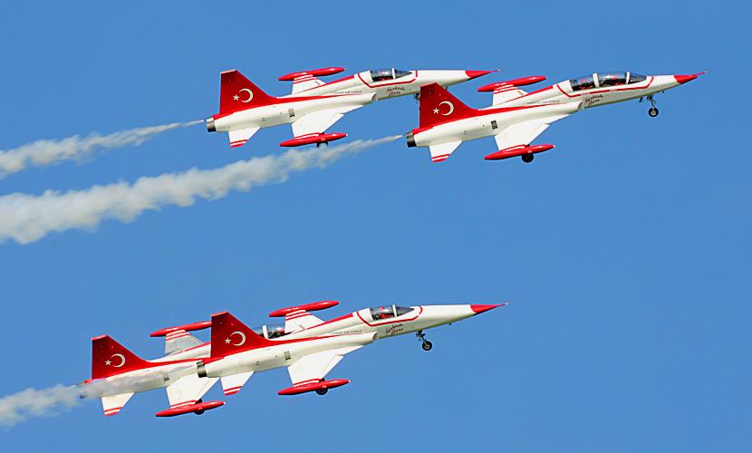 Турция перестала наносить удары по позициям ИГ после инцидента со сбитым Су-24