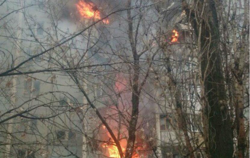 На месте ЧП в Волгограде произошел еще один взрыв, - очевидцы