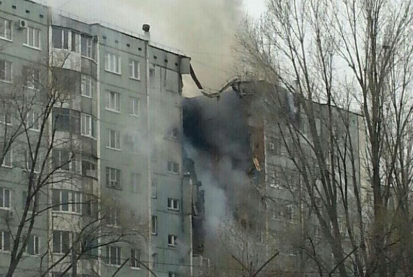 Количество пострадавших от взрыва газа в Волгограде увеличилось до 10 человек