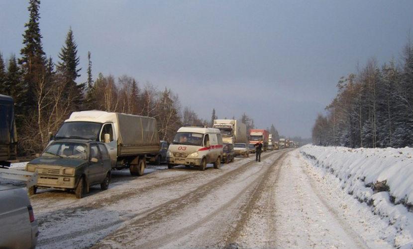 В массовом ДТП под Челябинском пострадали 30 человек