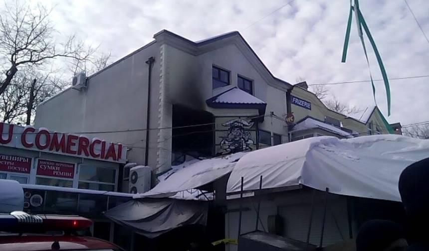 Во время мощного взрыва в центре Кишинева пострадало 20 человек