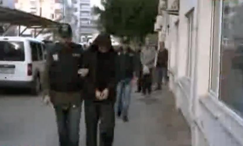 Опубликовано видео с задержанными в Турции россиянами