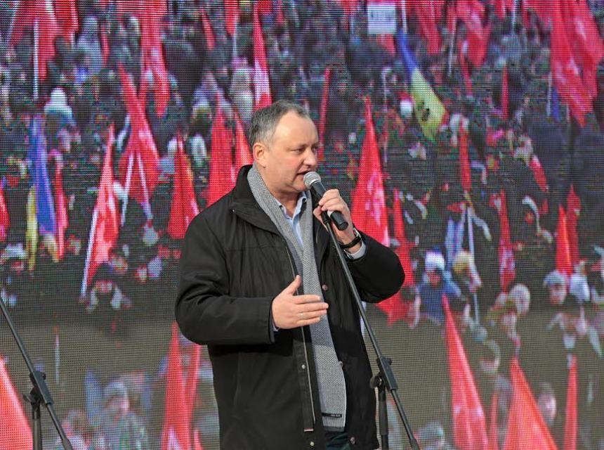 Жители Молдавии определились с кандидатурой нового президента