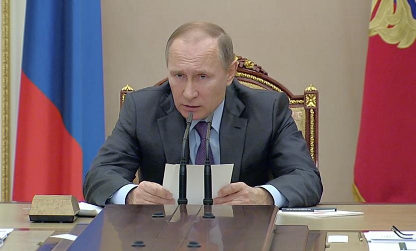 Путин приказал искоренять коррупцию и за границей