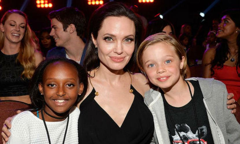 Дети Анджелины Джоли озвучили новую серию «Кунг-фу Панда 3»