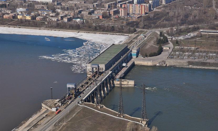 Новосибирскую ГЭС оцепили из-за угрозы взрыва