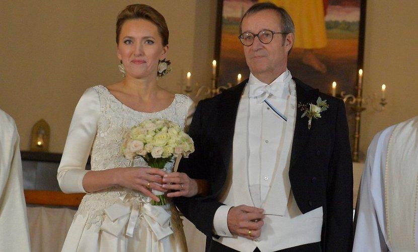 Президент Эстонии породнился с Минобороны Латвии