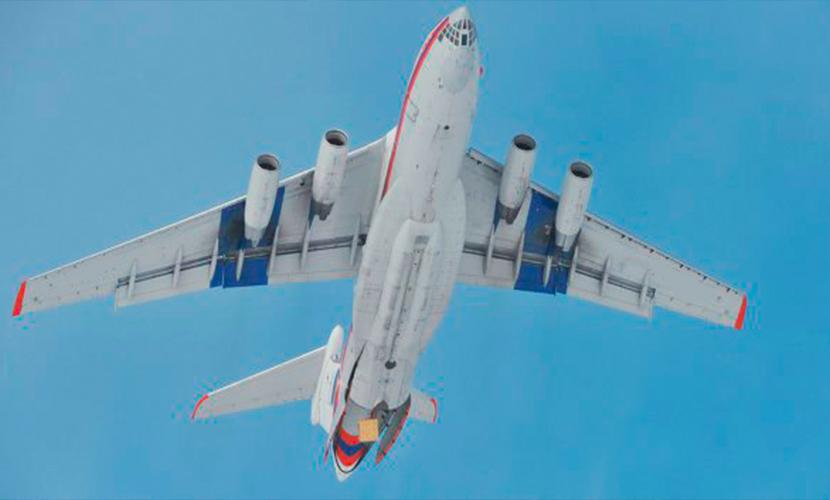 Ил-76 экстренно сел во Внуково после сигналов бедствия