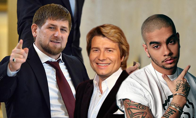 Тимати и Басков заступились за Кадырова и назвали его патриотом России