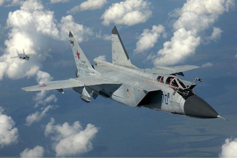 Пилоты с разбившегося МиГ-31 отделались ушибами