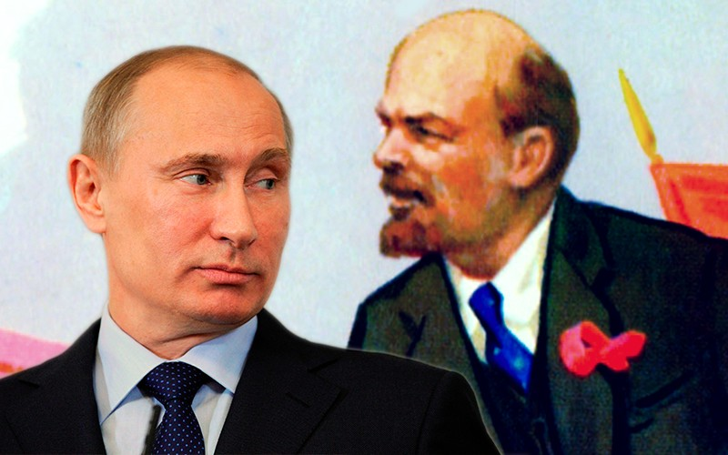 Путин: Ленин заложил атомную бомбу под Россию