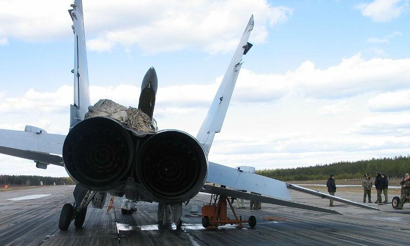Восемь истребителей МиГ-31 разбились за последние пять лет