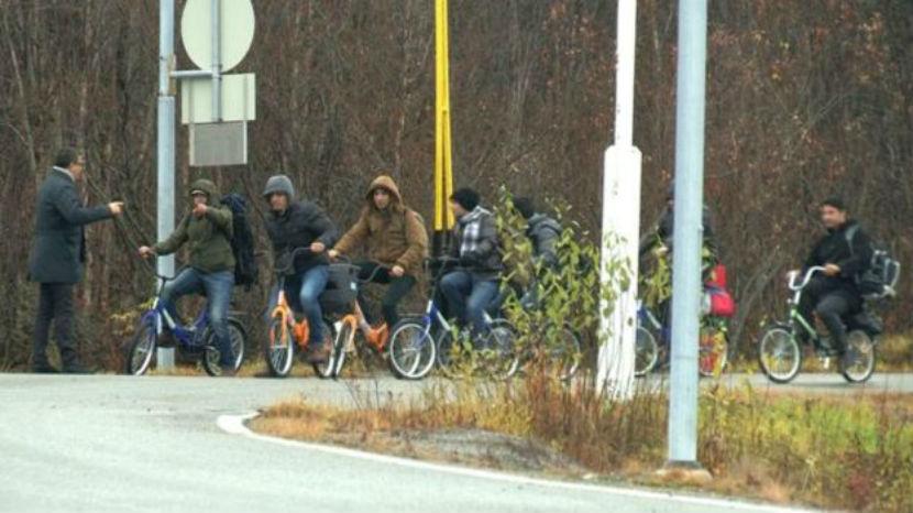 В Норвегии ищут велосипеды, чтобы выслать беженцев в Россию