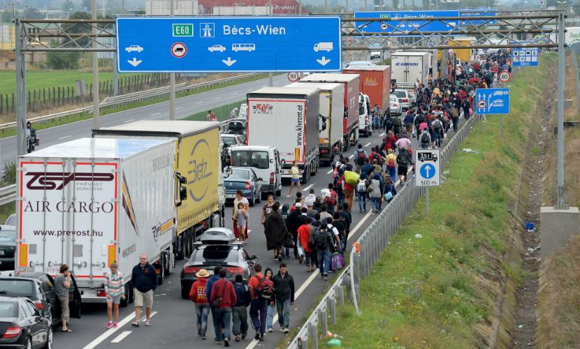 Австрия отменила Шенген и усилила проверки на границах из-за беженцев