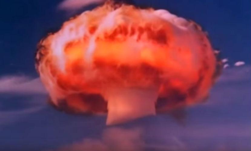 Опубликовано потрясающее видео взрыва водородной бомбы в КНДР