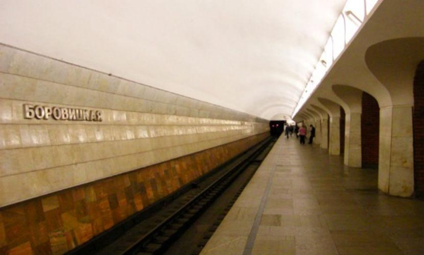 В московском метро произошла давка из-за подозрительных предметов