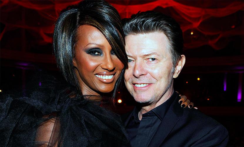 Одиозного Дэвида Боуи и его шикарную темнокожую супругу признали самой модной парой мира