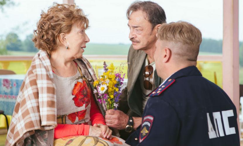 Кадр из фильма «Самый лучший день». Инной Чуриковой и Дмитрием Нагиевым.
