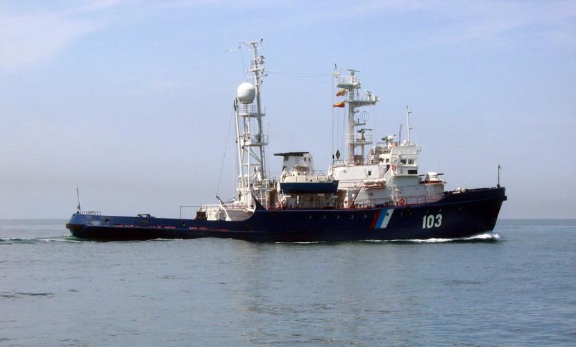 Погранслужба задержала в Крыму сухогруз под флагом Камбоджи за нарушение границы РФ