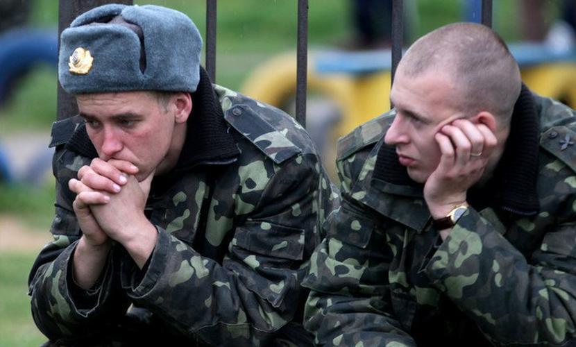 Украинских военных в Донбассе подкосила «эпидемия» алкогольного гомосексуализма