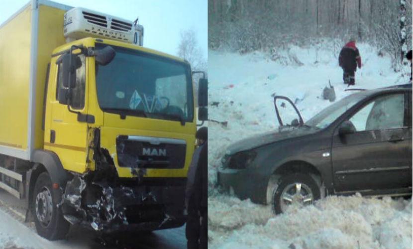 10-летняя девочка с женщиной погибли в страшном ДТП с фурой под Ярославлем