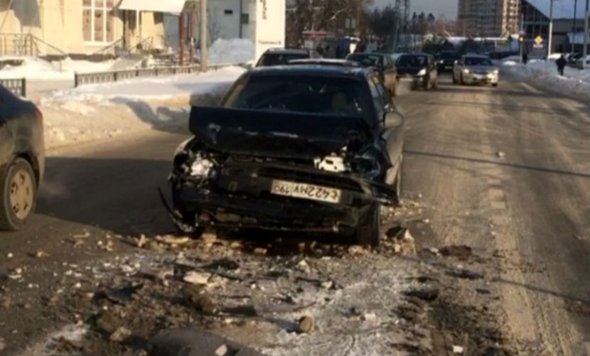 Звезда «Дома-2» Виктория Боня попала в серьезное ДТП на юго-востоке Москвы